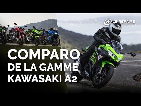 Comparo de la gamme Kawasaki A2
