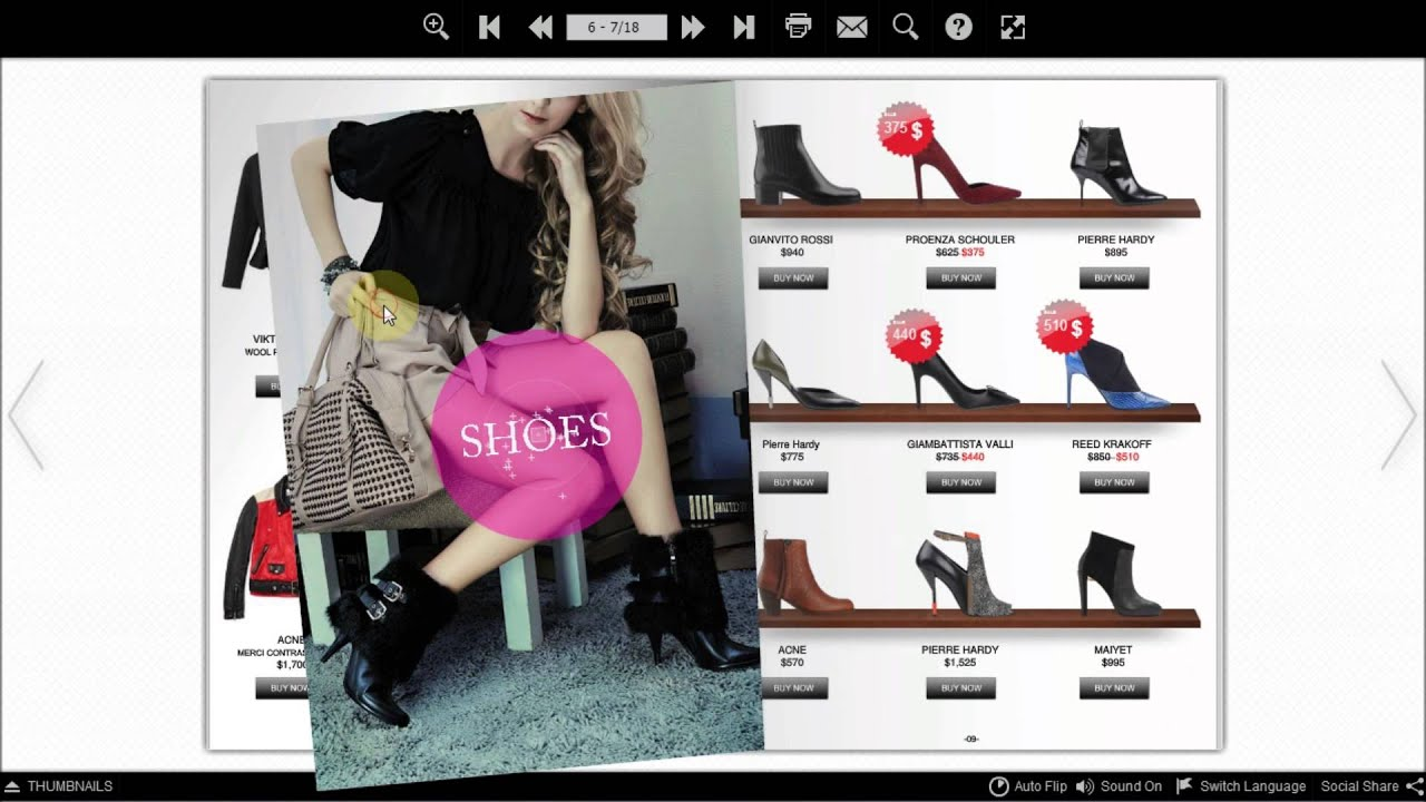 flip pdf html shopping catalogue en ligne qui optimise les ventes youtube. Black Bedroom Furniture Sets. Home Design Ideas