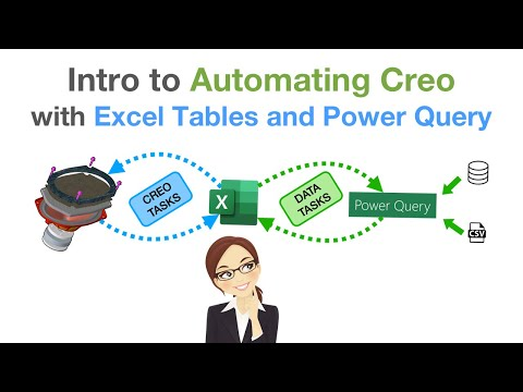 Intro to Automating Creo with Excel Tables and Power Query