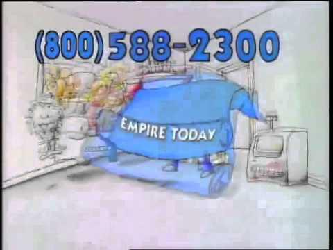 800 588 2300 Empire Today Youtube