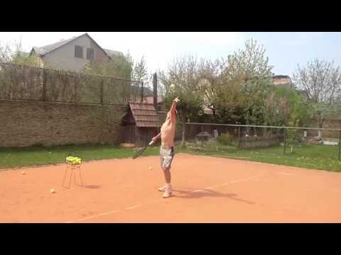 Roman Kucherenko Practice Serves 03.05.2013