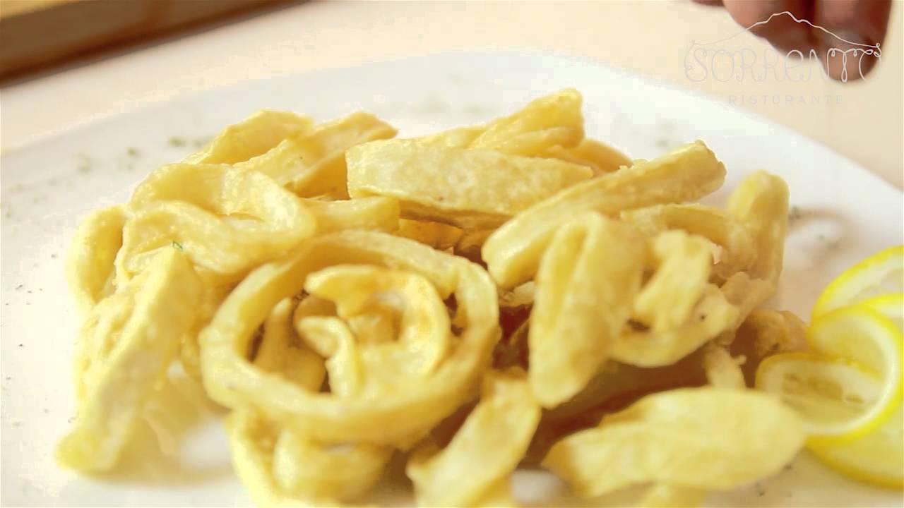 кольца кальмара во фритюре рецепт с