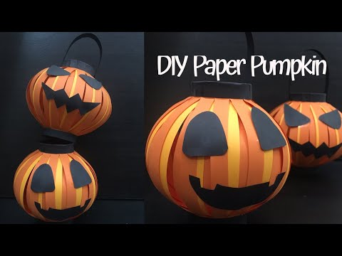 [HALLOWEEN CRAFTS DIY] Easy Halloween Crafts Viral- Halloween Pumpkin Decoration- Halloween Decor