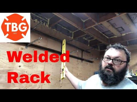 Welding A Lumber / Metal Storage Rack