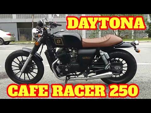 TEST RIDE NEW DAYTONA 250 CAFE RACER | CMC MOTORCYCLE