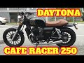 TEST RIDE NEW DAYTONA 250 CAFE RACER | CMC MOTORCYCLE