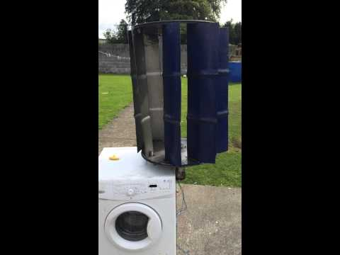 Drum barrel turbine.