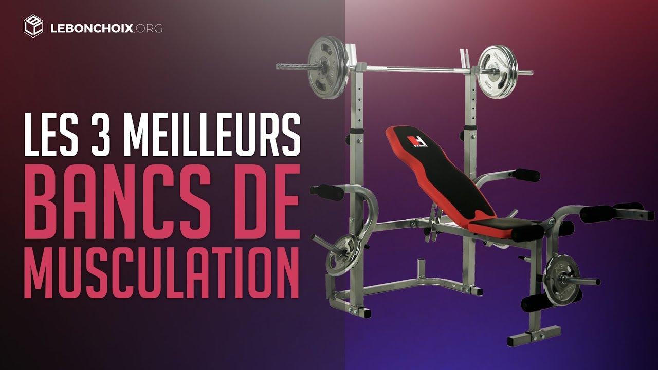 Top 3 Meilleur Banc De Musculation 2018 Comparatif Test