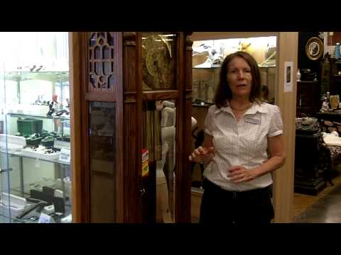 Antique clocks, Vintage and antique grandfather clocks, Gannon's Antiques & Art