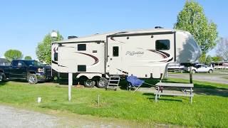 Camping at the Shipshewana South RV Park.