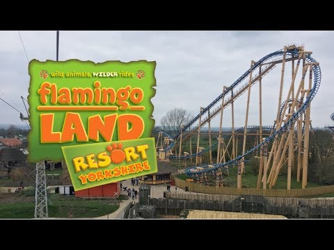 Flamingo Land Vlog April 2018