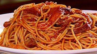Memphis BBQ Smoked Spaghetti With Pork