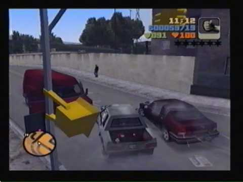 Grand Theft Auto III - PS2 - Joey Mission 05 - Dead Skunk in the Trunk