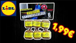 6er KUBISCHE KANONENSCHLÄGE | 1,99€ LIDL