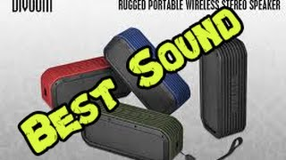 Best Sound Yet!!!!!!!!!!: Divoom VoomBox Outdoor Bluetooth Speaker Review