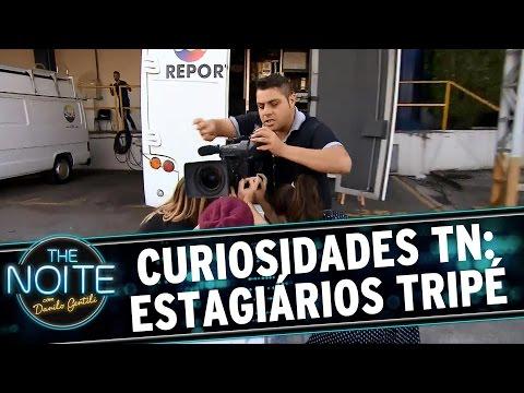 The Noite (24/08/15) - Curiosidades The Noite: Estagiários São Usados Como Tripé
