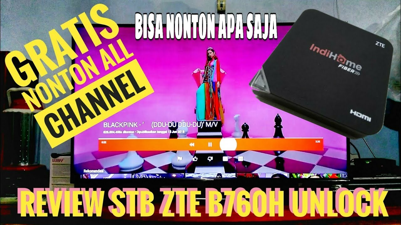 Review STB ZTE B760H Unlock