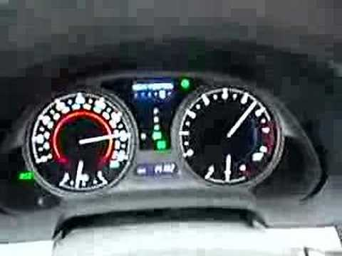 2006 Lexus IS350 145 mph top speed limiter - YouTube