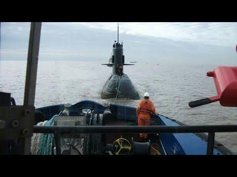 ARA San Juan: El Submarino debió quedarse en superficie para ser remolcado a una base. Antecedente