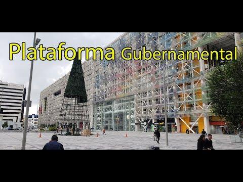 Conociendo la Plataforma Gubernamental de Quito. Albert Oleaga. Ecuador