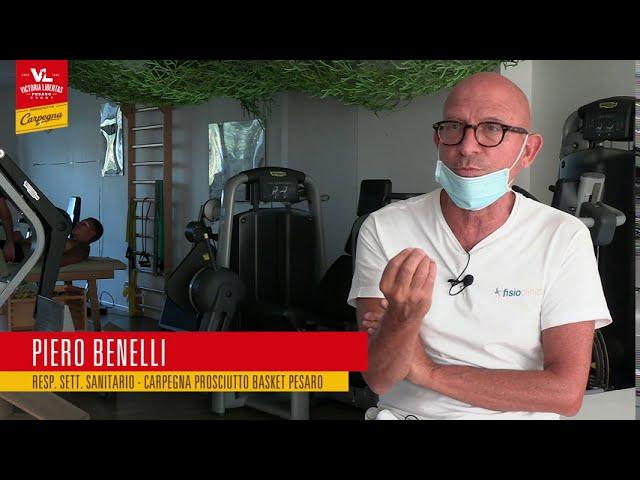 Piero Benelli presenta lo staff medico e sanitario 2020/2021 🏀⚪🔴