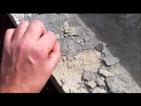 отслаивается верхний слой бетона