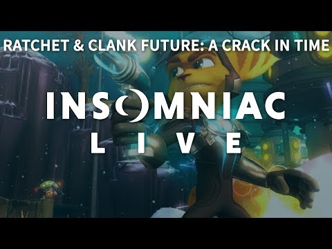Insomniac Live - Ratchet & Clank Future: A Crack in Time - pt 3