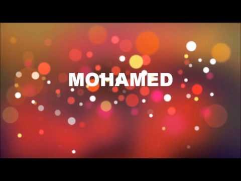 Joyeux Anniversaire Mohammed