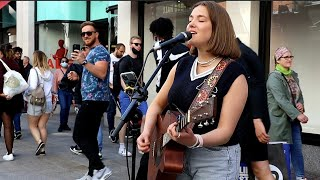 Download Mp3 ONE MINUTE INTO SINGING THE CROWD LOVE it Happier by Olivia Rodrigo Allie Sherlock Cover