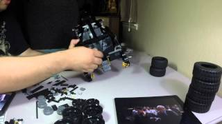 Lego build: The Tumbler 2014 set #76023 (time lapse)