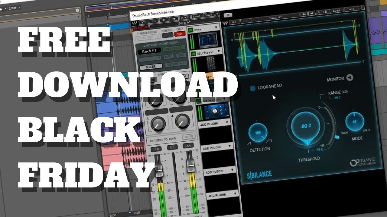 Free Download Black Friday | Waves Audio Sibilance Plugin