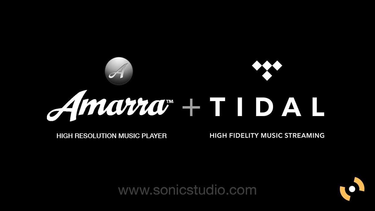 Amarra for TIDAL! (www sonicstudio com/amarra/aft)