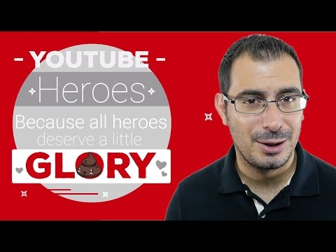 YouTube Fa Cagare distrugge YouTube Heroes: #oradicambiare!