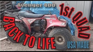First ever made ATV brought back to life Avenger 400