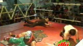 Crazy Boy vs joe Lider DTU lucha extrema