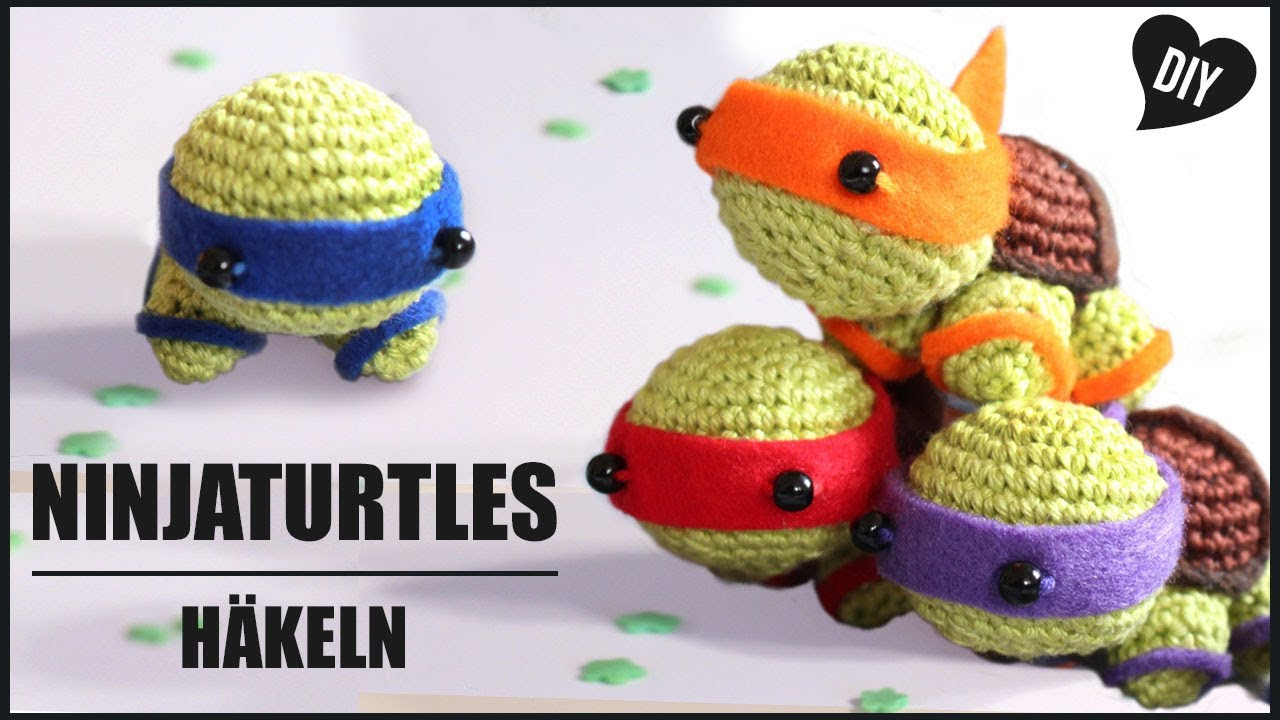 Free Crochet Pattern: Teenage Mutant Ninja Turtles | Crochet ... | 720x1280