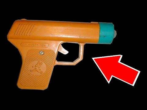 Детские пистолеты - игрушки детей СССР, игрушки раритет