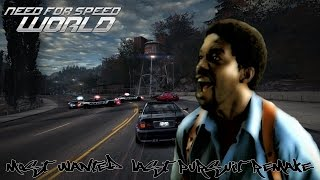 Need for Speed World Most Wanted last pursuit remake