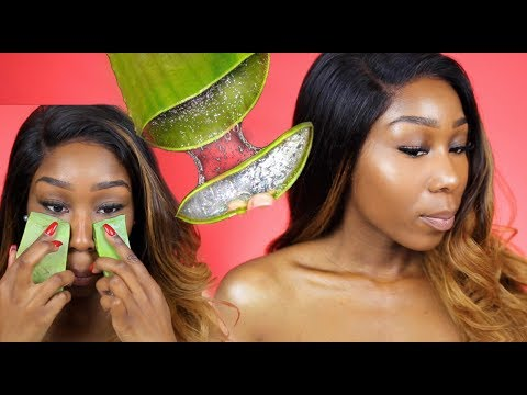 DIY: Get Clear and Glowing Skin! | Aloe Vera Plant Gel