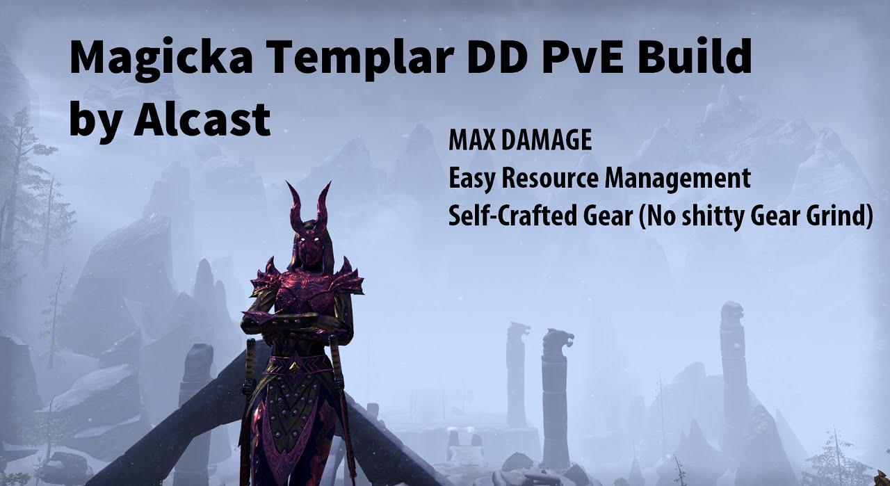 Magicka Templar Pve Build