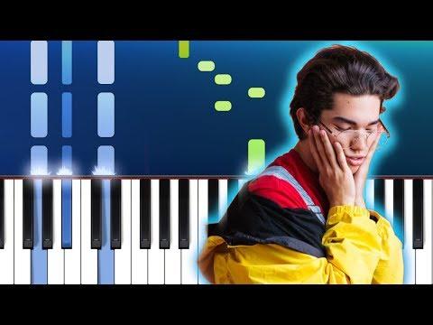 Conan Gray - Lookalike Piano Tutorial