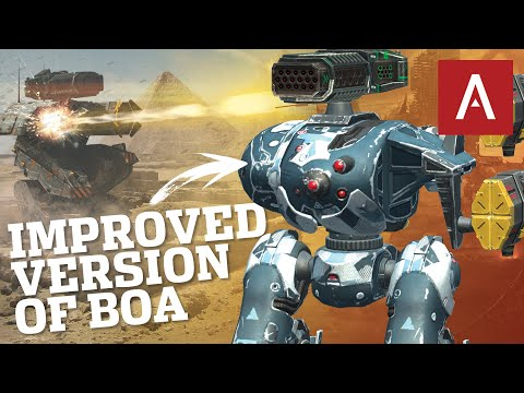 War Robots - CERBERUS Evolution Of The Boa WR Max MK2 Gameplay