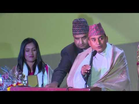 Dhurmus Suntali been felicitated by INAS in 4th INAS Award, sikkim