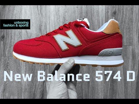 new balance 574 rouge 38