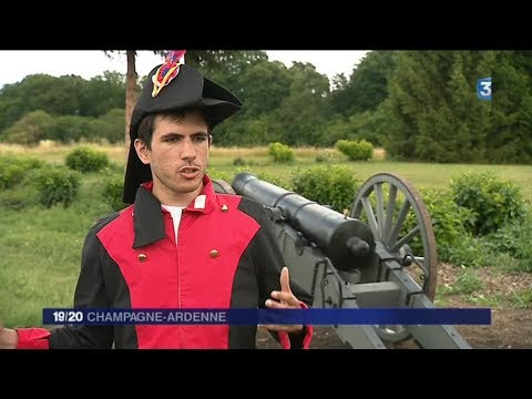 Reconstitution de la bataille de Valmy (Marne)