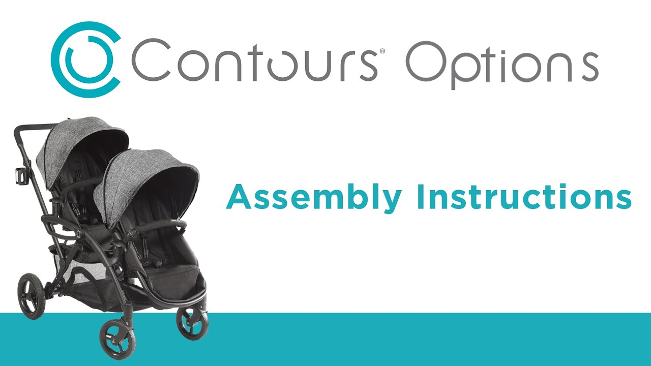 Contours 2016 Options Stroller Instructional Video Youtube