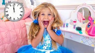 ديانا ذاهبة إلى حفلة الأميرات الراقصة