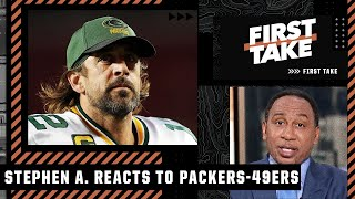Stephen A. BLASTS the Packers' organization after Aaron Rodgers' game-winning drive | First Take