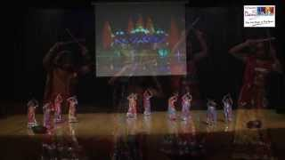 Dandiya dance performance o by children group on Kisna song :  Sampada