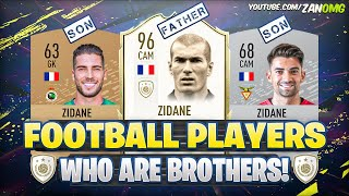 Gambar cover FIFA 20 Players who are BROTHERS and FAMILY! 😱